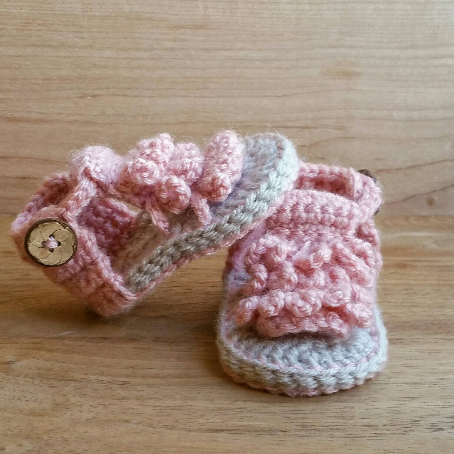 Baby Moccasin Sandals Crochet Baby Sandals Baby Shoes