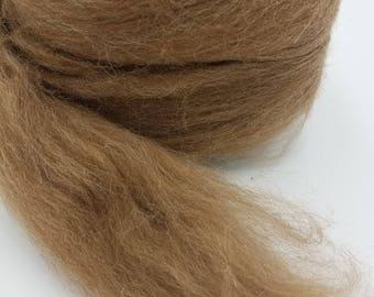 1 pound Manx Loaghtan combed top, roving, spinning fiber, felting fiber, fiber