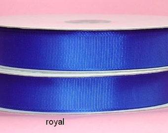 5/8 x 50 yds GROSGRAIN RIBBON - Royal   Save 25%