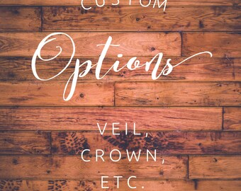Custom option add ons
