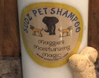 Maggie's Moisturizing Magic Dog Shampoo - combine Essential Oils -  -