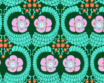 Half yard, VIOLETTE by Amy Butler - French Twist AB141 Jade