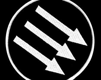 Anti-fascism Iron Front Badge