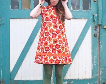60's Bandana Dress