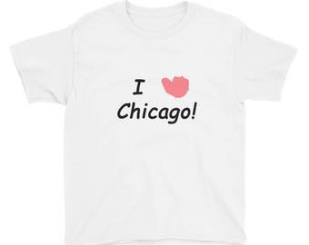 I HEART Chicago Youth Short Sleeve T-Shirt