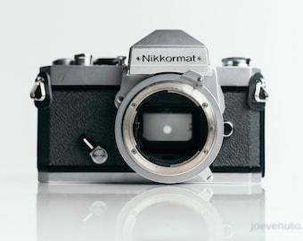 Nikkormat FT2 35 mm Film Camera Body - Needs Repair
