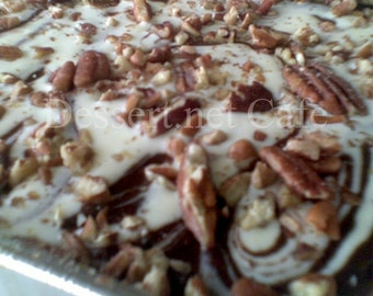Sour Cream Pecan Brownies
