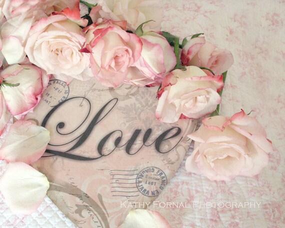 photographie de roses romantiques shabby chic roses. Black Bedroom Furniture Sets. Home Design Ideas