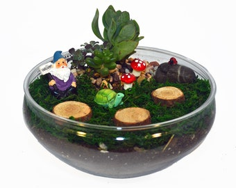 Gnome Garden Bowl Kit