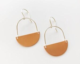 Copper Orme Earrings