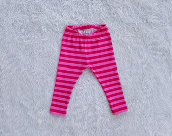 Baby Leggings Toddler Leggings Kids Pants Fall Clothing Newborn Baby Clothes Autumn Wardrobe Girls Pants Back To School Pink Stripes