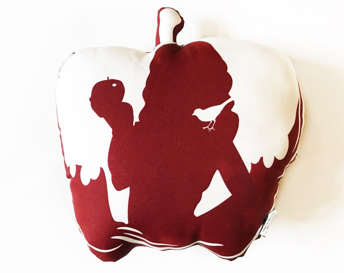 Snow White Apple pillow- Poison Apple