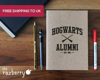 Harry Potter Notebook A5 Kraft Tom Riddle Diary Hogwarts Alumni Notebook A5 Notepad Hogwarts Dumbledore Notepad School University College