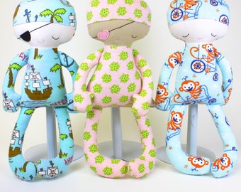 SALE Sleepy Pajama Baby PDF Doll Pattern