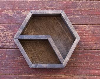 Hexagon Geometric Shelf