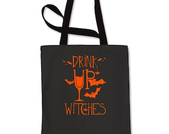 Drink Up Witches Shopping Tote Bag