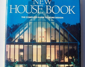 Terence Conran New House Book 1985 vintage eclectic interior design decorating book