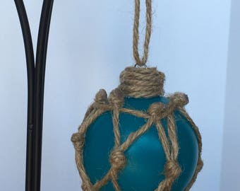 Sea Glass Float Ornament