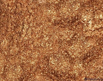 Bronze Mica Sparkly Bronzed Micas Pigment Powder Cosmetic Shimmer Color Colorant Makeup Soap and Craft Coloring Slime and Resin too