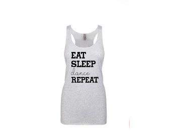 Eat Sleep Dance Repeat Tank