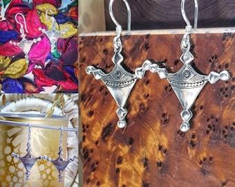 Elegant Bagzan Touareg Grand Cross Handmade Silver 925