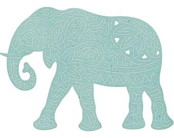 Cheery Lynn Bohemian Dies CHOOSE ONE: Elephant B876, Yin Yang Die Set B877