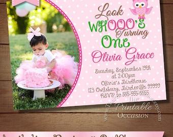 Owl birthday invite etsy owl birthday invitation filmwisefo