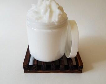 Island Coconut & Mango - Scented Shea Butter Cream Lotion - 8 oz Jar - Free Shipping!