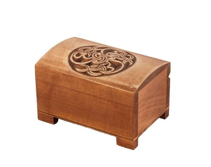 small historical jewelry box
