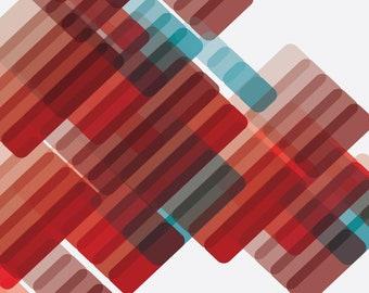 Koroni Red Limited Edition Print   LEIGH BAGLEY