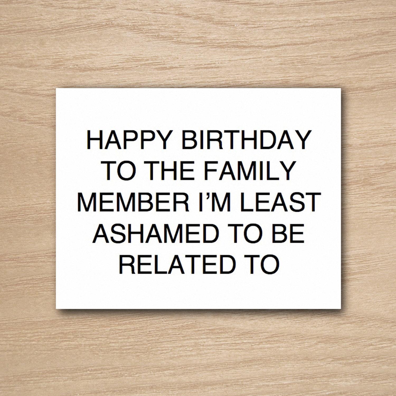 Instant Download Diy Printable Funny Happy Birthday Greeting