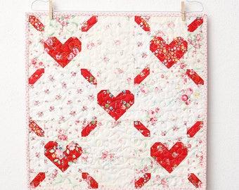 PDF Quilt Pattern - Love Is All Around Mini