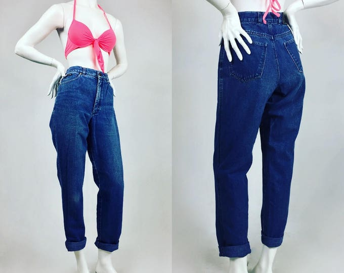 Vintage Escada by Margaretha Ley Mom Jeans - 80's/90's - Designer Vintage - On Trend - High Waist Jeans - Medium Wash Denim - Ladies Size 29