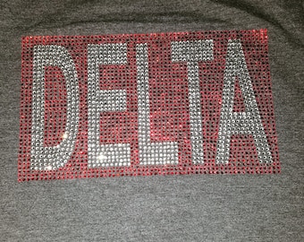 Closeout-Delta Block- Red