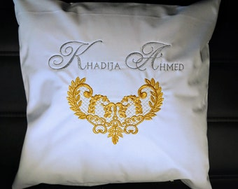 Luxury Personalised Cushion Cover with Fillings