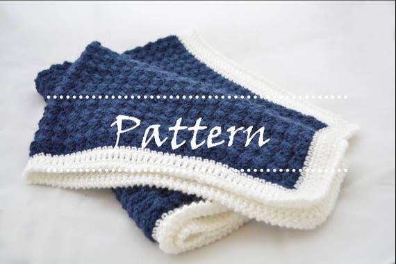 Johnny Blanket Crochet Baby Blanket Pattern Beginner Crochet