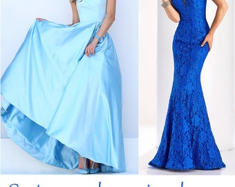 Custom made Dresses for Prom Wedding Party evening gown Quinceañera sweet 16