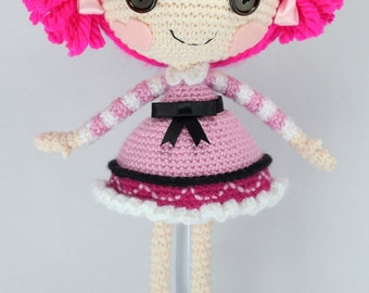 PATTERN: Toffee Crochet Amigurumi Doll