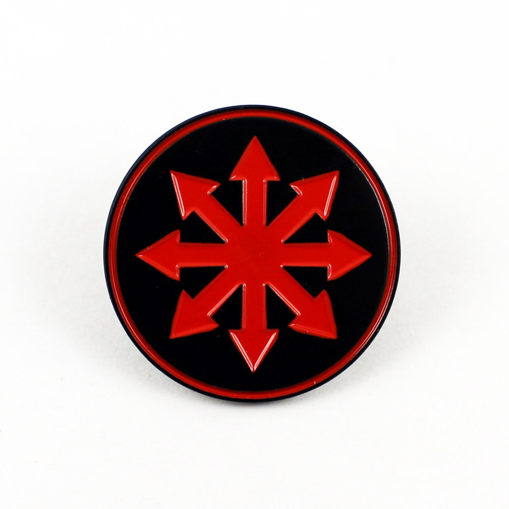 Chaos star 1 14 inch soft enamel pin symbol of chaos description the symbol of chaos biocorpaavc Image collections