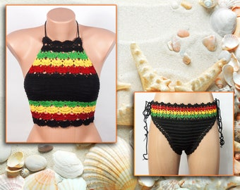 Suit for the beach, Suit for the pool, Fashion, Cotton, Acrylic
