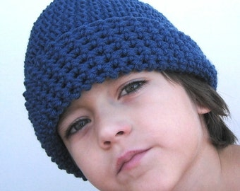 Crochet Hat Pattern Beanie Baby through Adult - ONE SKEIN Pattern  pdf file p103