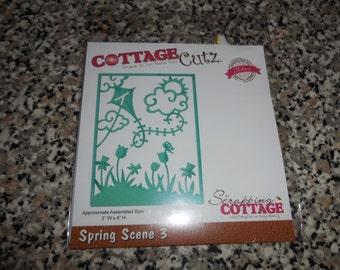 CottageCutz Spring Scene 3 Die