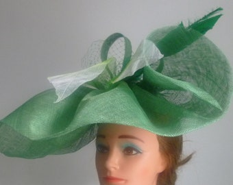 Large green hatinator Weddings | Races | Mother of the bride