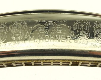Harmonica M. Hohner Musical Instrument Harmonikas vintage retro