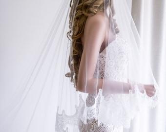 Bridal Veil/ Wedding Veil/ Mantilla Veil/ DropVeil/ Lace Veil/ Tulle Veil