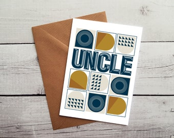 Uncle Birthday Card Greetings Occasion Cards Blank