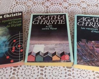 3 Agatha Christie books