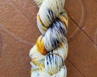 "Swedish Girl Hand Dyed Sock Yarn - Colorway ""Pennypacker"""