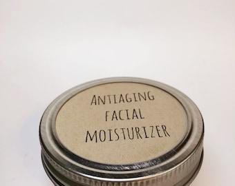 Anti-aging facial moisturizer