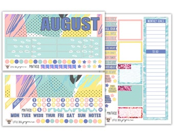 MNTH08 // August Monthly View Kit // Fun Summer